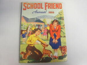 Good-The-School-Friend-Annual-1955-V-A-1955-01-01-Foxing-tanning-to-edges