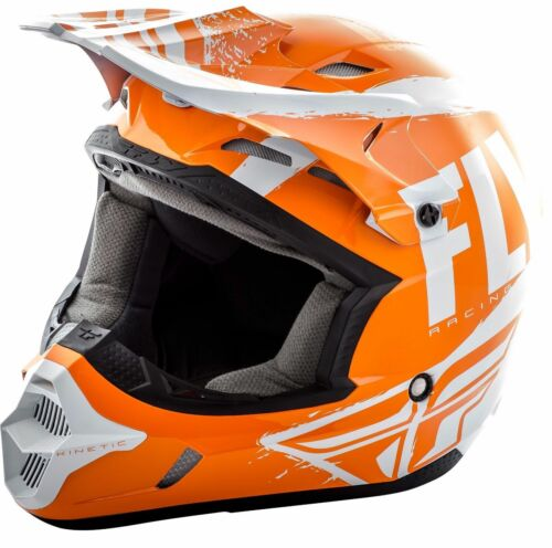 2019 Fly Racing Kinetic Burnish Helmet Motocross ATV UTV Off Road Dirt Bike