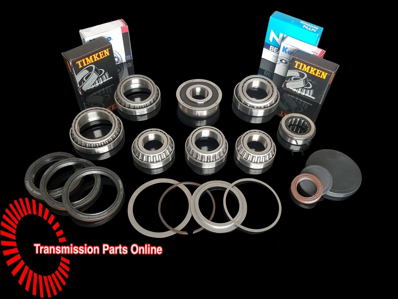 Details about VW Golf 2 0 Petrol / TDi Early 02Q 6 Speed Gearbox Bearing &  Oil Seal Repair Kit