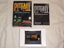 Pitfall The Mayan Adventure Atari Jaguar Game w/ Box & Manual pit fall US NTSC