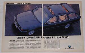 Advert-Pubblicita-1993-BMW-SERIE-5-TOURING-E34-4-6-8-CILINDRI