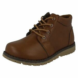 JCDees-N2042-Boy-039-s-Brown-Synthetic-Casual-Ankle-Boots
