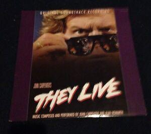 THEY-LIVE-audiophile-virgin-vinyl-Soundtrack-LP-John-carpenter-Rowdy-Roddy-Piper