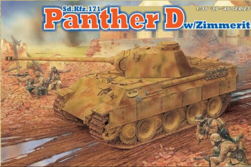 DRAGON 6428 Maquette Sd.Kfz.171 Panther D Zimmerit