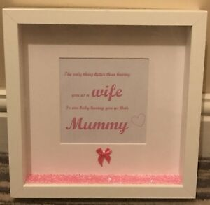 Image Is Loading Handmade Personalised Box 3d Picture Frame Mother S