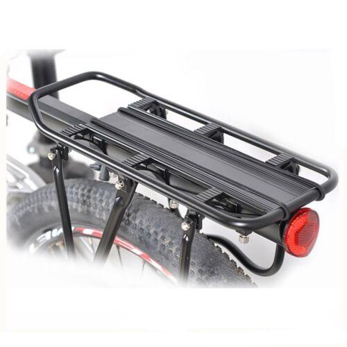 Fahrrad MTB Alu Gepäckträger Verstellbar Sattelstütze Montage Hinten Sitzt 50KG