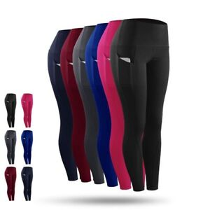 Women-039-s-Athletic-Compression-Exercise-Long-Pants-Slim-Base-Layer-Running-Tights