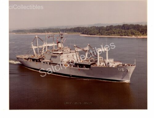US Navy Ship Photograph USS St.Louis LKA116 Original Photo 8x10