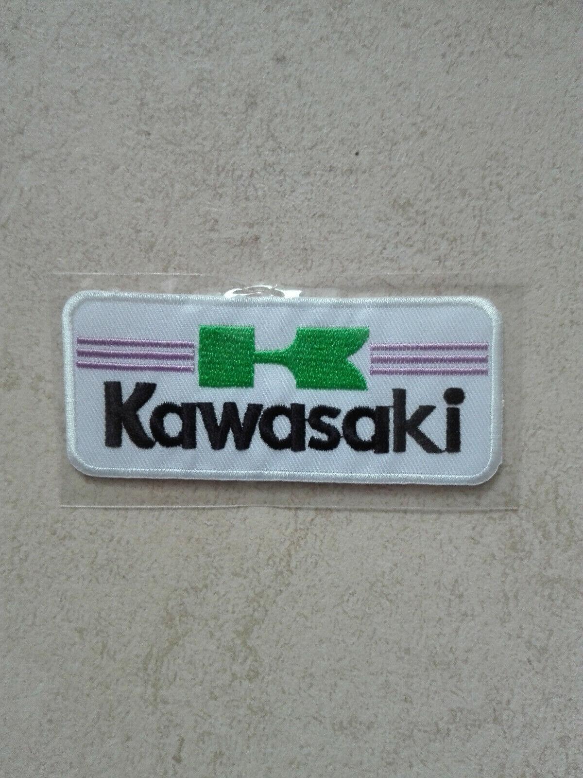 Aufnäher Patch Kawasaki Racing Motorsport Autocross Tuning Biker Chopper Patches