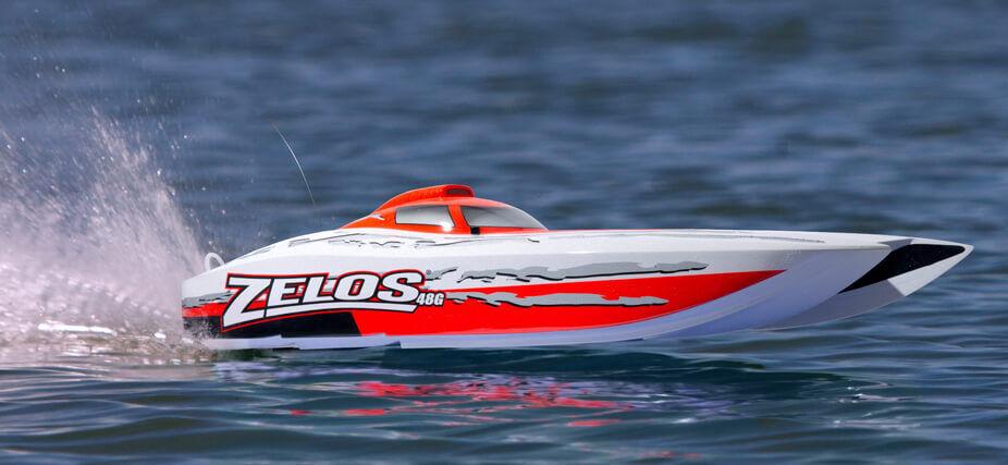 El nuevo outlet de marcas online. Pro Boat Boat Boat Proboat Zelos G 48 RTR catamarán radio control gasolina barco  grandes ahorros