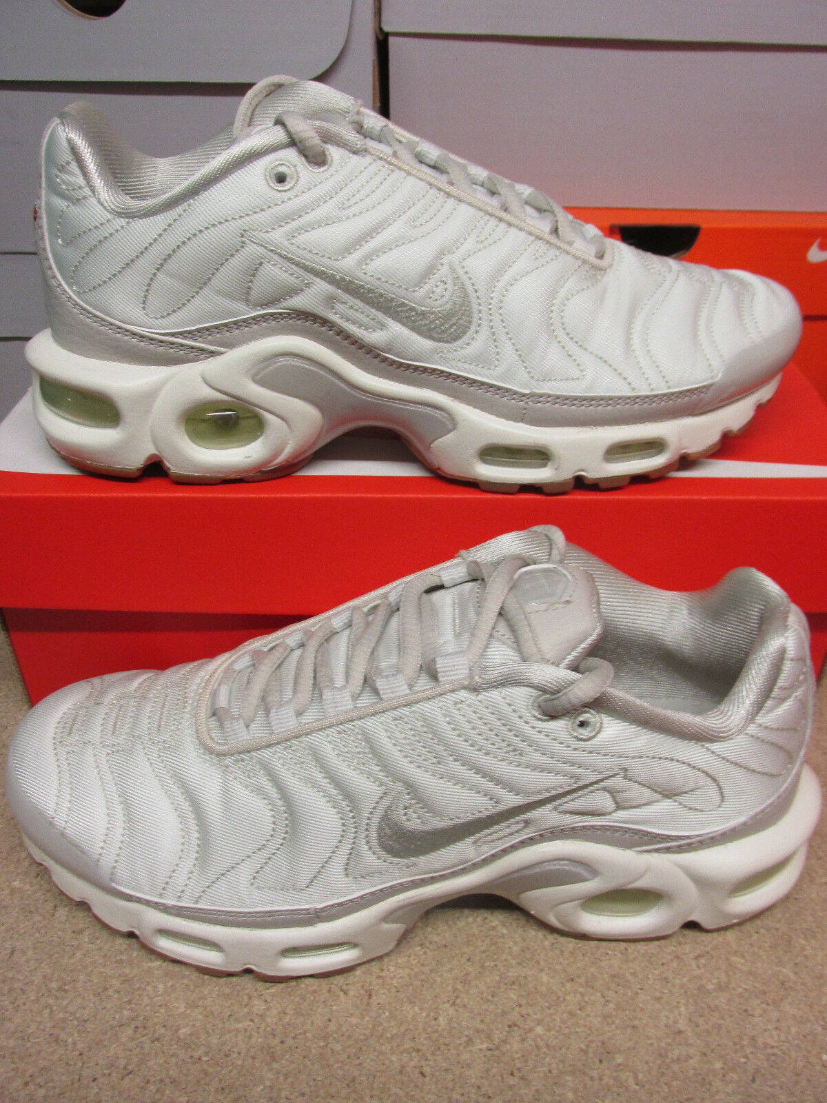 Nike Damenschuhe Air Max Plus PRM Running Trainers 848891 002 Sneakers Schuhes