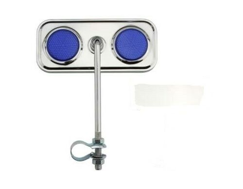 NEW BICYCLE RECTANGLE MIRROR REFLECTOR LOWRIDER CRUISER MTB  BIKES CYCLING!
