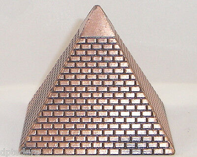SOUVENIR METAL BUILDING PYRAMID EGYPTIAN