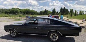 1966 Dodge Charger 2 door Fastback 383 engine