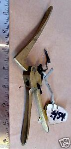 45-Caliber-Vintage-Brass-Hand-Reloading-Tool-De-Priming-Tool-Crown-RR-Markings