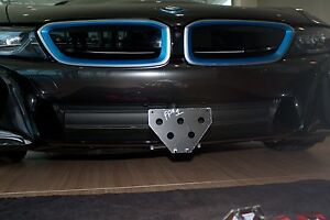 2014 2018 Bmw Bmw I8 Removable Front License Plate Bracket Ebay