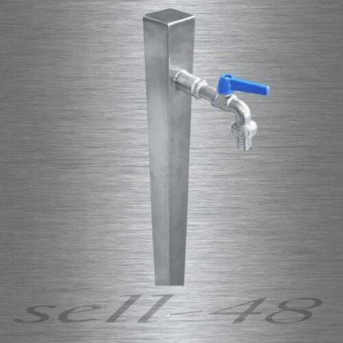 Acier inoxydable colonne d/'eau pompe à essence jardin pompe à essence fait main