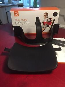 stokke tripp trapp babyset schwarz top baby set hochstuhl sitzverkleinerer ebay. Black Bedroom Furniture Sets. Home Design Ideas