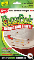 (new) 2 Boxes For Sales - Buggy Beds Bed Bug Monitors ( 4-pack /box)