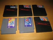 Mega Man 1 2 3 4 5 6 1-6 Nintendo NES Game Cartridges