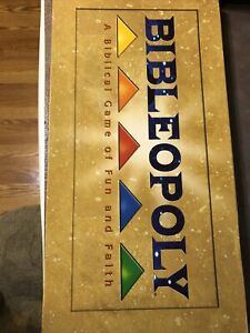 Game-Bibleopoly 2-6 Players