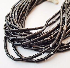 Sardonyx Perlen schwarz 4-12 mm 1 Strang BACATUS Edelsteine #4958