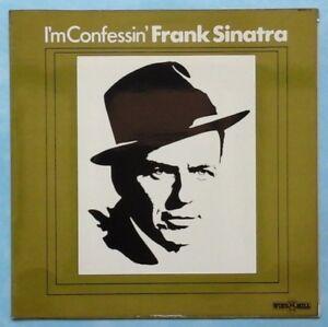 FRANK-SINATRA-I-039-M-CONFESSIN-039-1974-UK-11-TRACK-MONO-VINYL-LP-RECORD