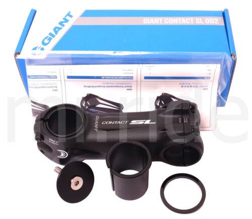 """GIANT Contact SL OD2 Bike Stem 60 to 130mm //-8deg Black for 1-1//4/"""",1-1//8/""""  tube"""