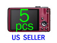 5pcs Clear Lcd Screen Protector Guard Cover Film Sony Cybershot Dsc-hx7v