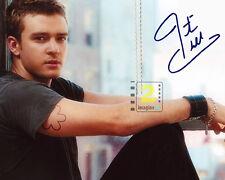 "Justin Timberlake Signed 10""x 8"" Color PHOTO! REPRINT"