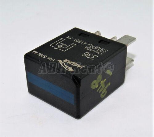 948 Jaguar Multi-Use 4-Pin Black Relay LNA6700AA 336 Siemens-A1201-X4 12V 20A