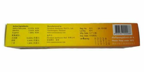 Namman Muay Thai Boxing Analgesic Massage Cream 30 g.