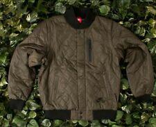 Nike Air Quilted Zip off Varsity Jacket Vest Black Men's Sz