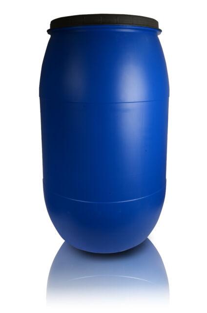 Plastic Barrel 120l Lid Liquid Water Storage Container Drum Keg Stock Tank