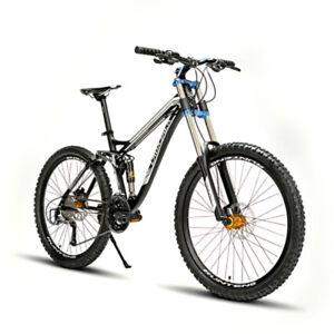 2017-26-034-Men-039-s-Sport-Mountain-Bike-Cycling-27SP-SHIMANO-Aluminium-Alloy-Frame-US