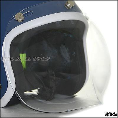 Bubble Shield Visor Mask UV transparent Lens for Helmet Arai AFX BELL Biltwell