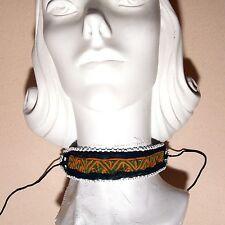 BellyDance Ats Costume Embroidered Choker Kuchi Tribe 798w10