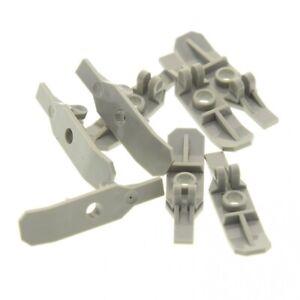 8x-Lego-Figuren-Ski-alt-hell-grau-Gleiter-Star-Wars-6575-6520-7142-6120