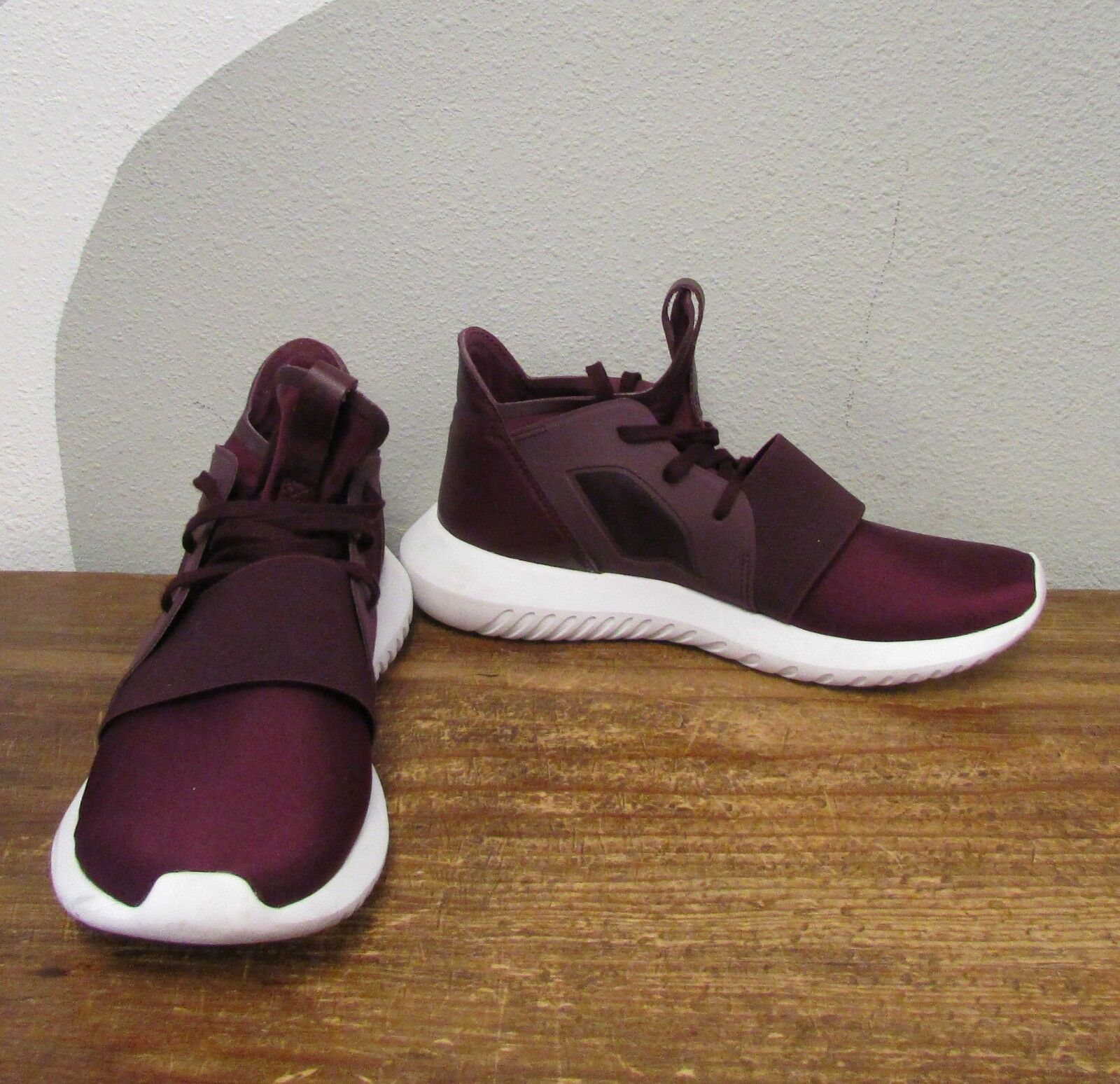 ADIDAS ORIGINALS TUBULAR Women's Viral 2.0 Purple Lace Up Athletic Sneakers - 7