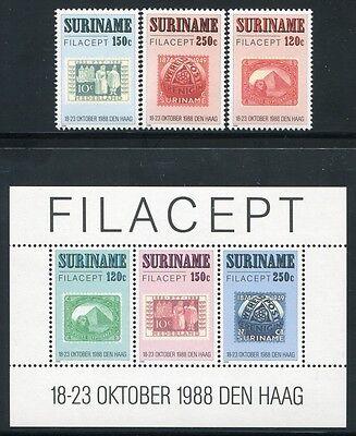 Block 48 ** Mnh Um Der Bequemlichkeit Des Volkes Zu Entsprechen Niederlande & Kolonien Surinam 1988 Filacept Briefmarken Philatelie 1274-76 Briefmarken
