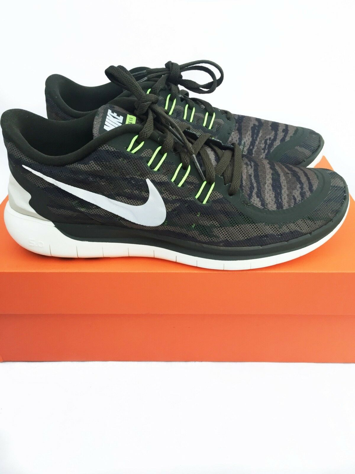 Nike Free 5.0 Print Running Training Active Low Top Shoes  Size US 8