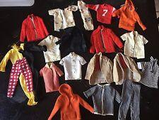 Vintage Barbie KEN Doll Clothing Lot Light TLC 1960s Clothes