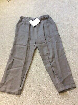 """""""muro"""" Women's Pantaloni Di Lino (l)-mostra Il Titolo Originale"""