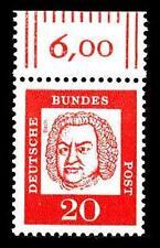 BUND bed. Deutsche (x)  20 Pf, (Mi. 352) ** Oberrandmarke Luxus