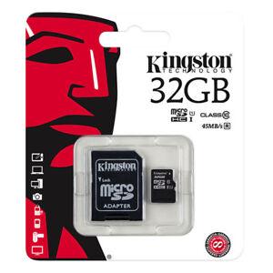 kQ Kingston microSDHC 32 GB Speicherkarte Class 10 UHS-I 80MB/s SDCS/32GB