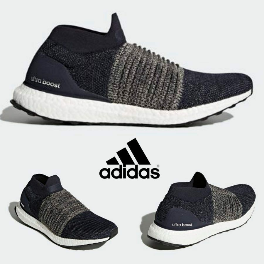 Adidas Ultra Boost Laceless Shoes Running Navy BB6135 SZ 4-11