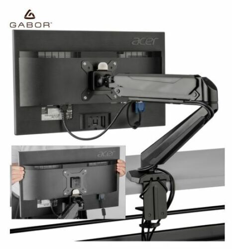 OPEN BOX Gabor LeviTouch Single-Arm Monitor Desktop Mount Free Shipping