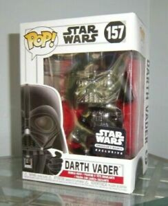 Black-Chrome-DARTH-VADER-SMUGGLERS-BOUNTY-Funko-Pop-Vinyl-New-Mint-Box-P-P