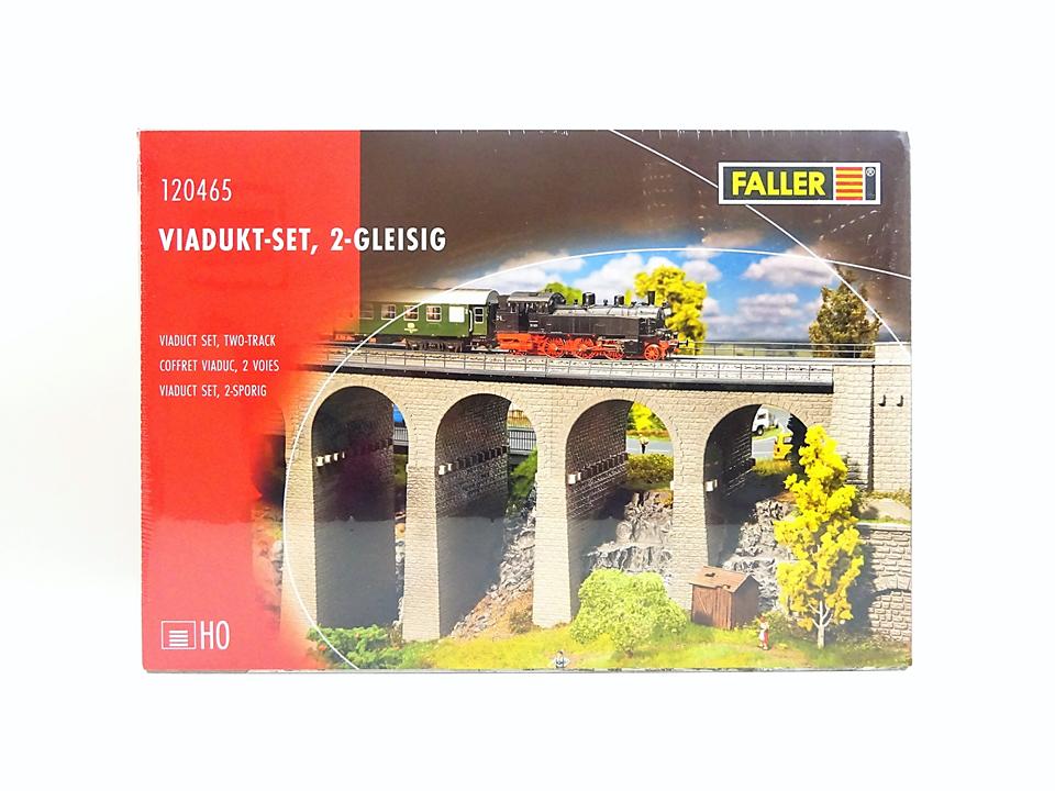 Ftuttier h0 120465, viadotto-Set, 2-gleisig, Nuovo, Confezione Confezione Confezione Originale 419418