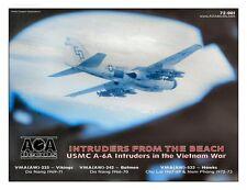 AOA decals 1/72 INTRUDERS FROM THE BEACH USMC A-6A Intruders in the Vietnam War